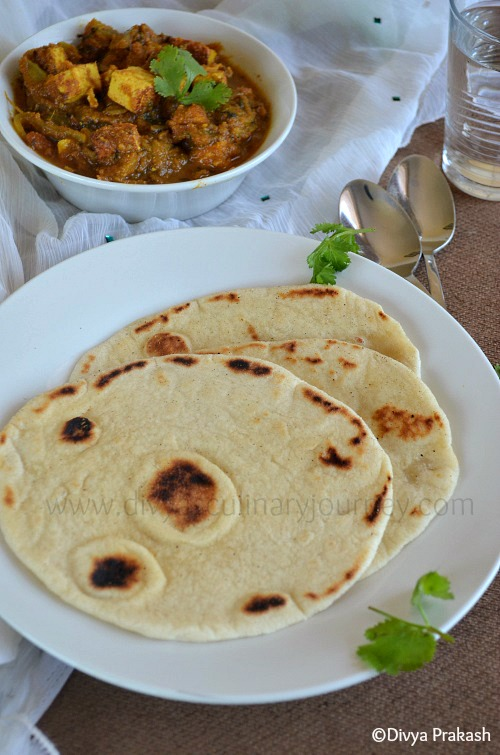 easy naan recipe, naan prepared on stove top