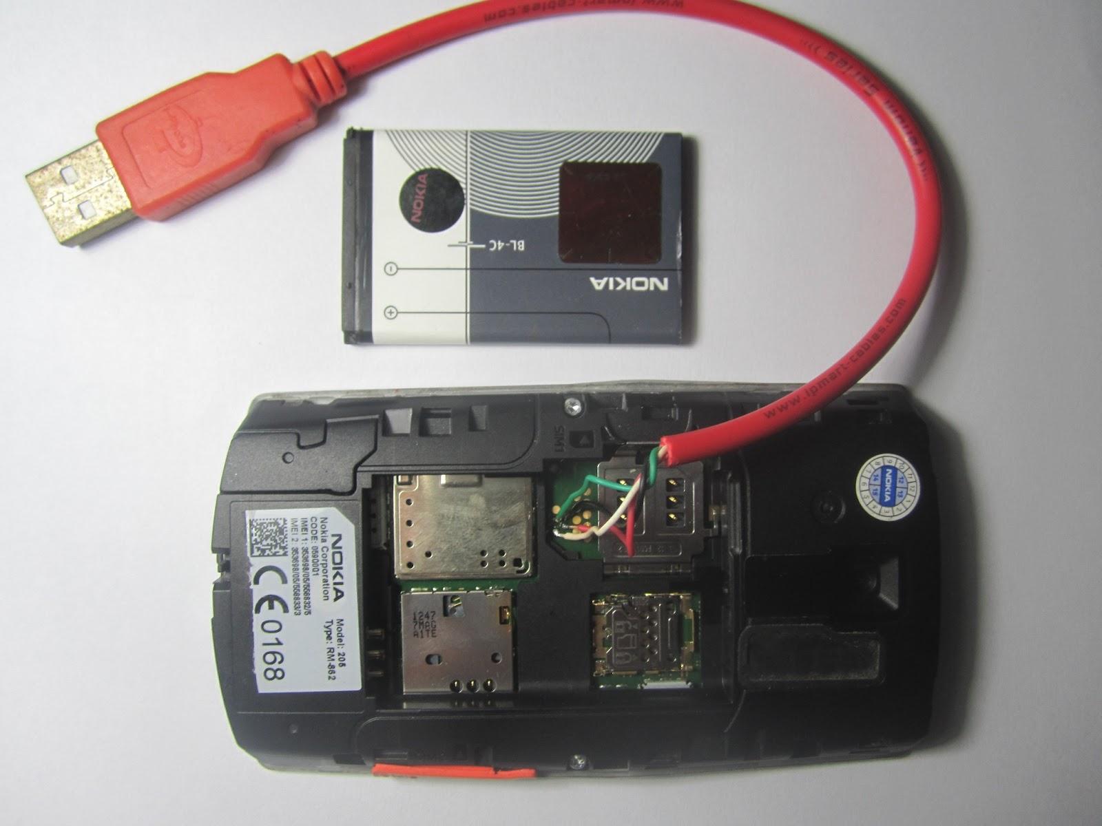 Koleksi Service Handphone Flasing Nokia Asha 205