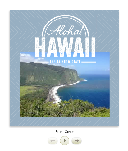 Hawaii Shutterfly Vacation Book