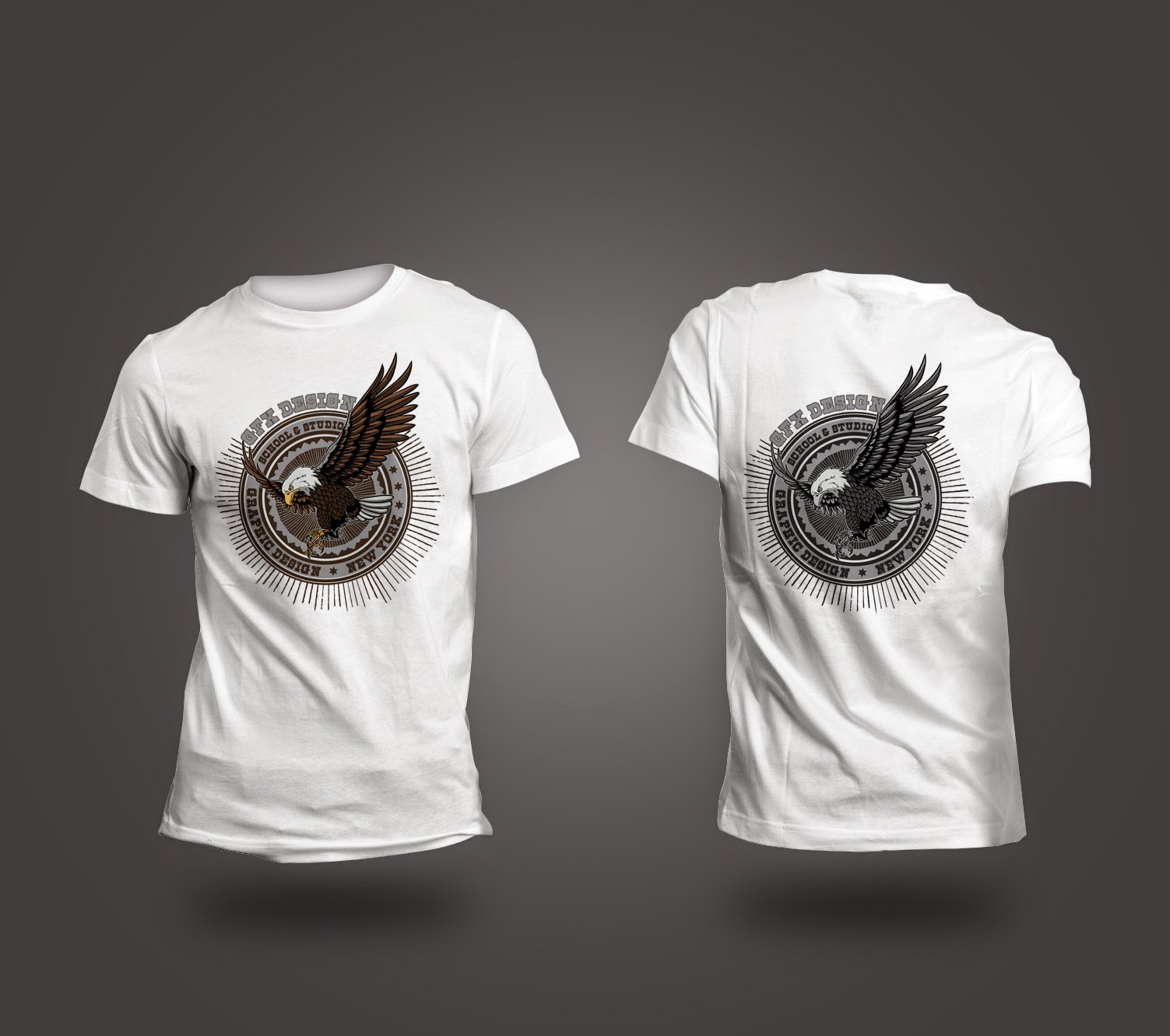 Design t shirt graphics online - Graphic Design Project Gfx School And Studio Of Design Online T Shirt Graphics Concept For 2014 Student Work Compilation