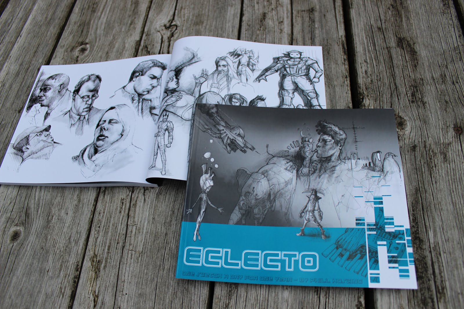 Eclecto sketchbook for sale