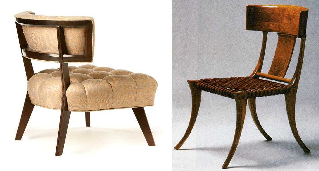 El diario de acajou regency hollywood style - Estilos de sillas antiguas ...