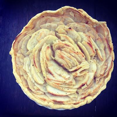 tarte aux pommes apple pie