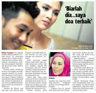Ibu Mertua Tetap Cool Bila Tahu Dirinya Di Kritik Farid Kamil | Respek dengan jawapan yang lebih matang dan cool dari ibu mertua Farid Kamil setelah diminta mengulas kenyataan Farid Kamil di Twitter baru-baru ini.