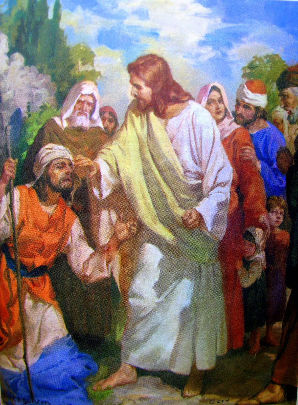 blind bartimaeus The story of blind bartimaeus occurs in the gospel of mark and concerns the healing of a blind beggar called bartimaeus, the son of timaeus a parallel account mentions two blind men (matthew 20:30), but mark focuses on the one who was no doubt.
