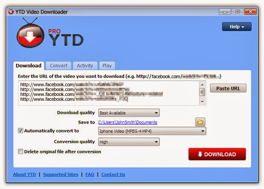 Free YouTube Downloader Pro YTD v4.4 Final