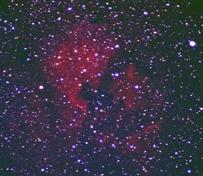 The North American nebula in Cygnus - NGC7000