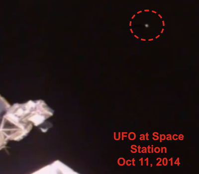 Glowing UFO Passes Space Station Travelling At 17,100 Mph, UFO Sightings
