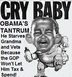 obama baby can t get his way