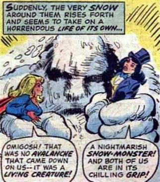 Supergirl #7, Snowman