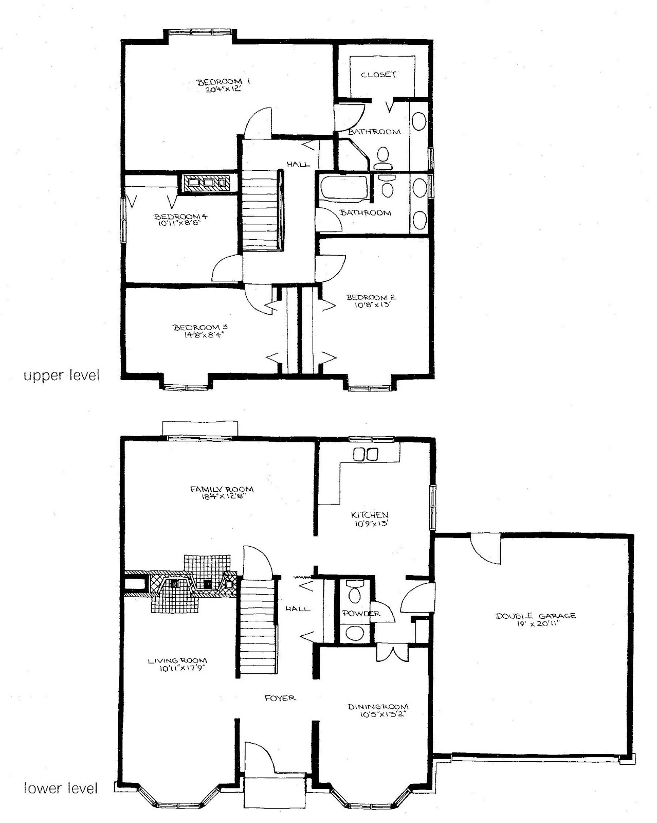mid century modern and 1970s era ottawa evolution of a plan the while in the past the centre hall plan was wide and shallow by the 1970s the addition of a large family room made many of these plans quite deep