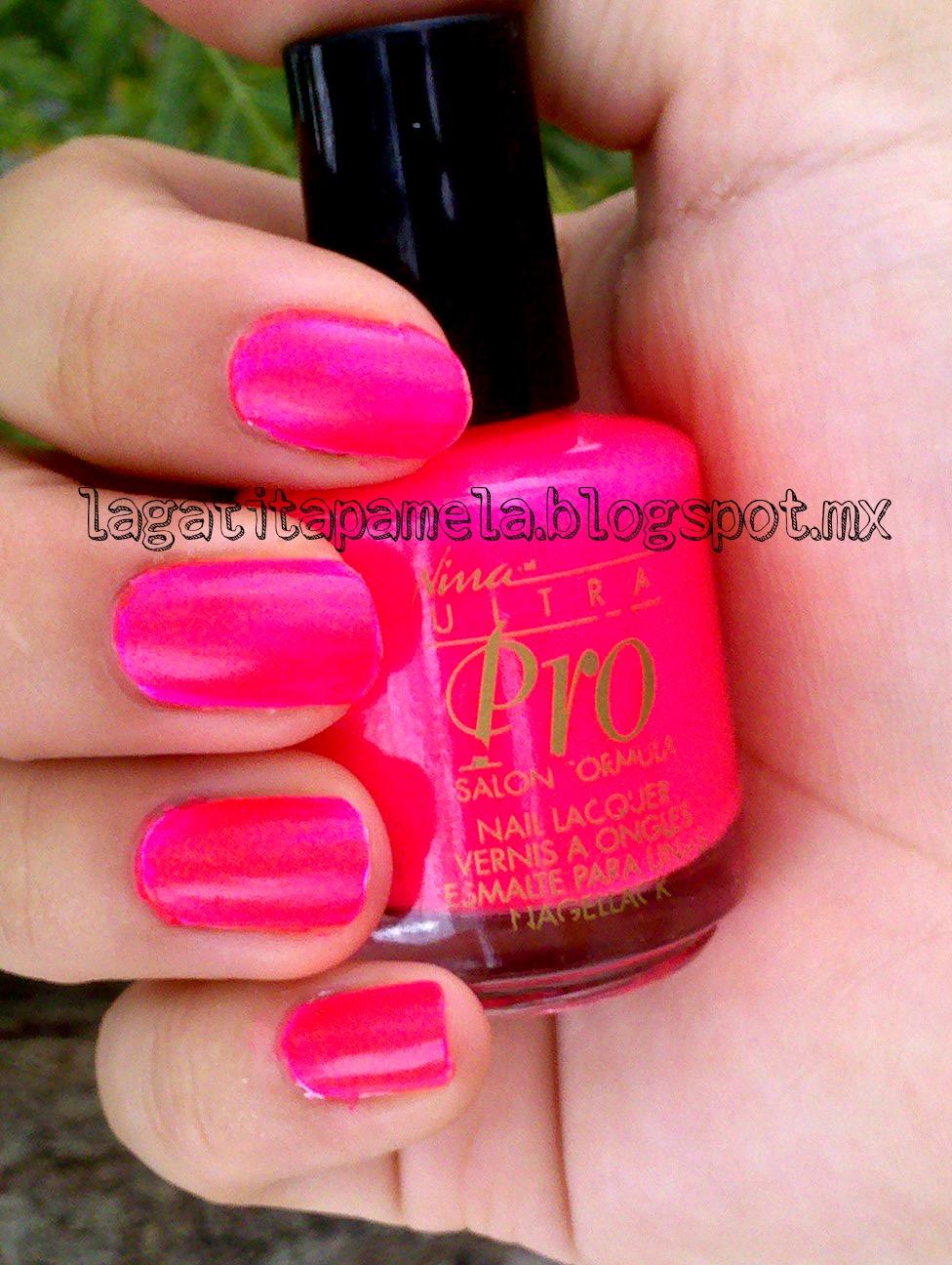 Makeup HD: Neon Pink Nina ultra Pro-punki pink