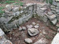Detall de la Font de Sant Julià