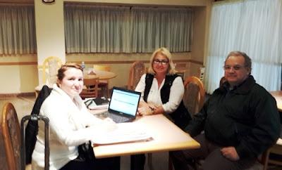 Staff Previsional atendiendo las consultas que surgen de jubilaciones y reajustes