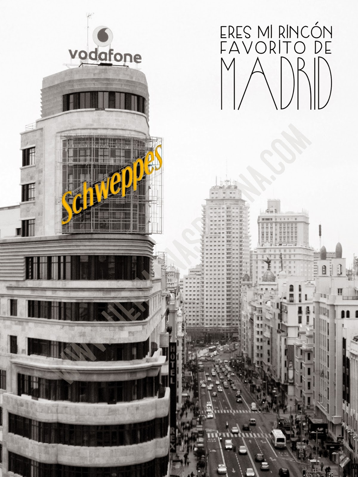 regalos originales lámina Madrid hermanas bolena
