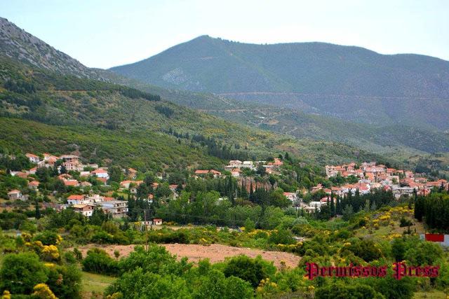 Αγία Τριάδα Λιβαδειάς:Ένα πανέμορφο χωριό σκαρφαλωμένο στις πλαγιές του Ελικώνα
