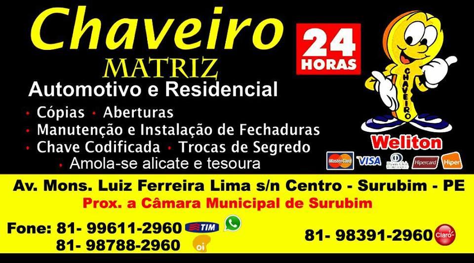 CHAVEIRO MATRIZ