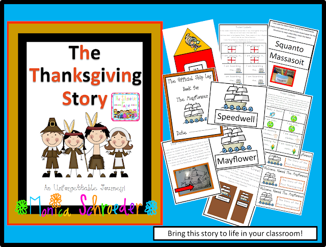 The Schroeder Page, The Thanksgiving Story in 2nd Grade