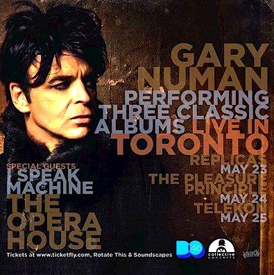 Gary Numan @ The Opera House, Wednesday