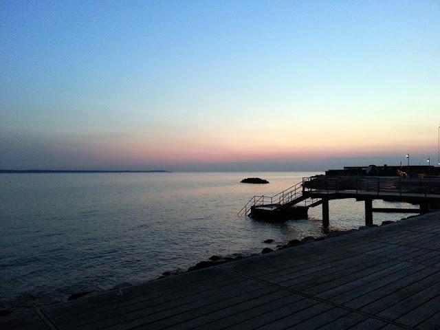 Sunset Helsingborg july 2015