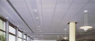 contoh jenis plafon rumah model akustik