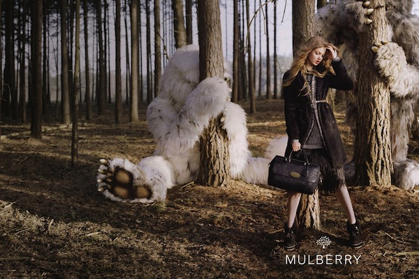 Lindsey Wixson for Mulberry FW 2013