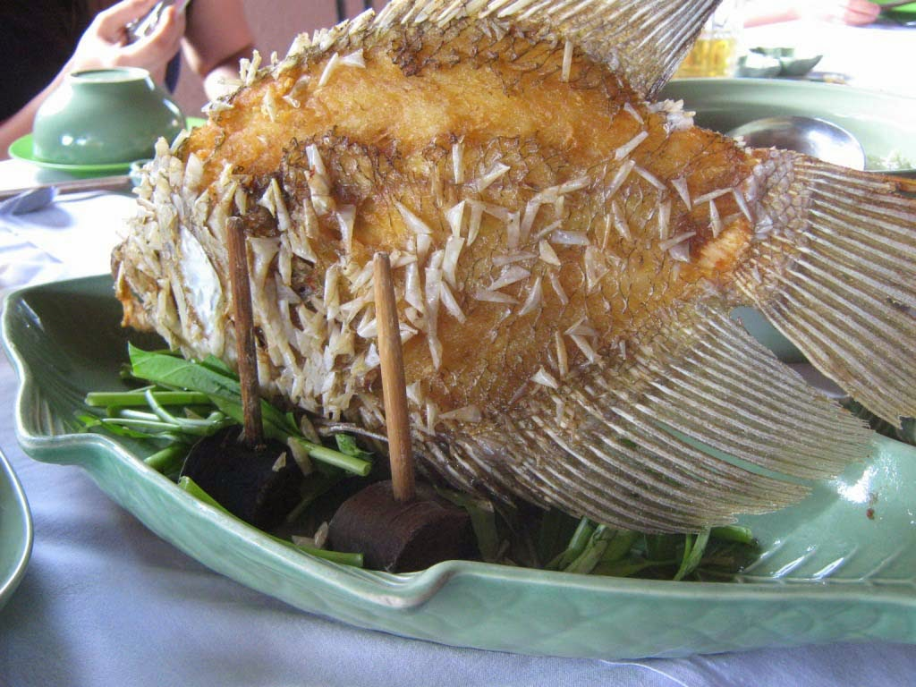 Asam Manis Bola Ikan Bihun ala Vietnam
