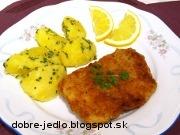 Vyprážaný pangassius s orechmi - recept