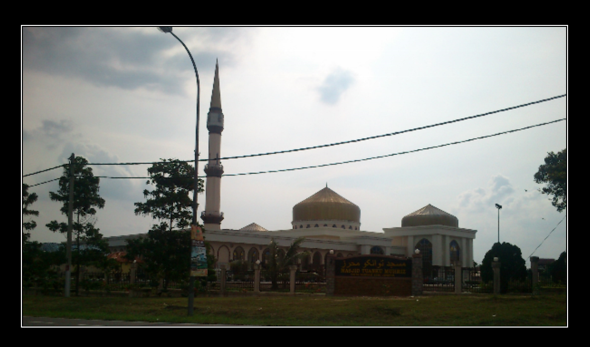Masjid Tuanku Muhriz, Bandar Baru Jempol, Negeri Sembilan