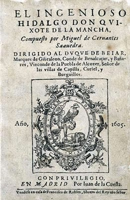 Σελίδες για τον Δον Κιχώτη (Don Quixote de la Mancha - Δον Κιχότε δε λα Μάντσα)....