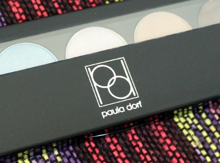 Paula Dorf Aztec City Eyeshadow Pallete review logo