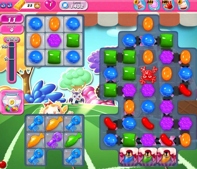 Candy Crush Saga 1432