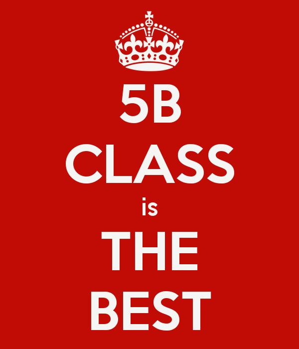 De klasblog van 5B