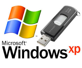 How to install windows xp using a Flash Drive