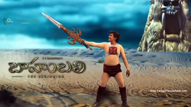 Watch Baahubali Trailer Sampoornesh Babu Version