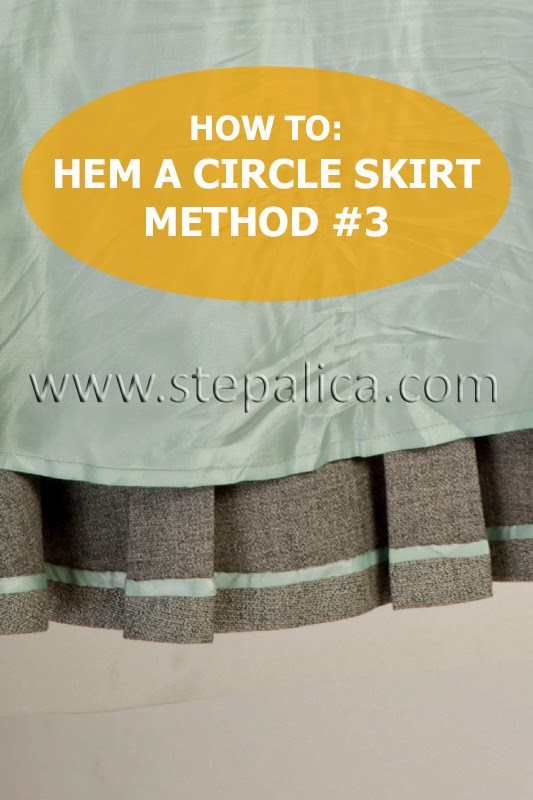 Zlata skirt sewalong: #16 Hem the skirt, method 3