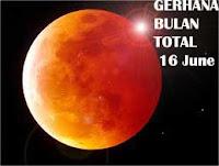 fenomena alam gerhana bulan total 16 juni 2011