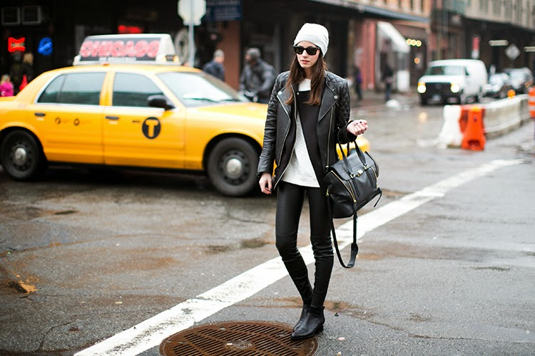 Leather Pants-street style