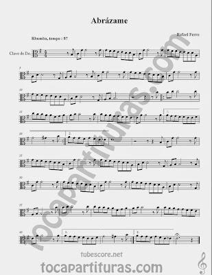 Partituras  en Clave de  Do para Viola y otros instrumentos en Clave de Do en 3º Línea