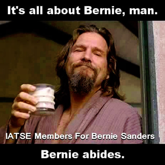 "<b><a href=""http://BernieSanders.com/"">Bernie Sanders. A Future To Believe In.</a></b>"
