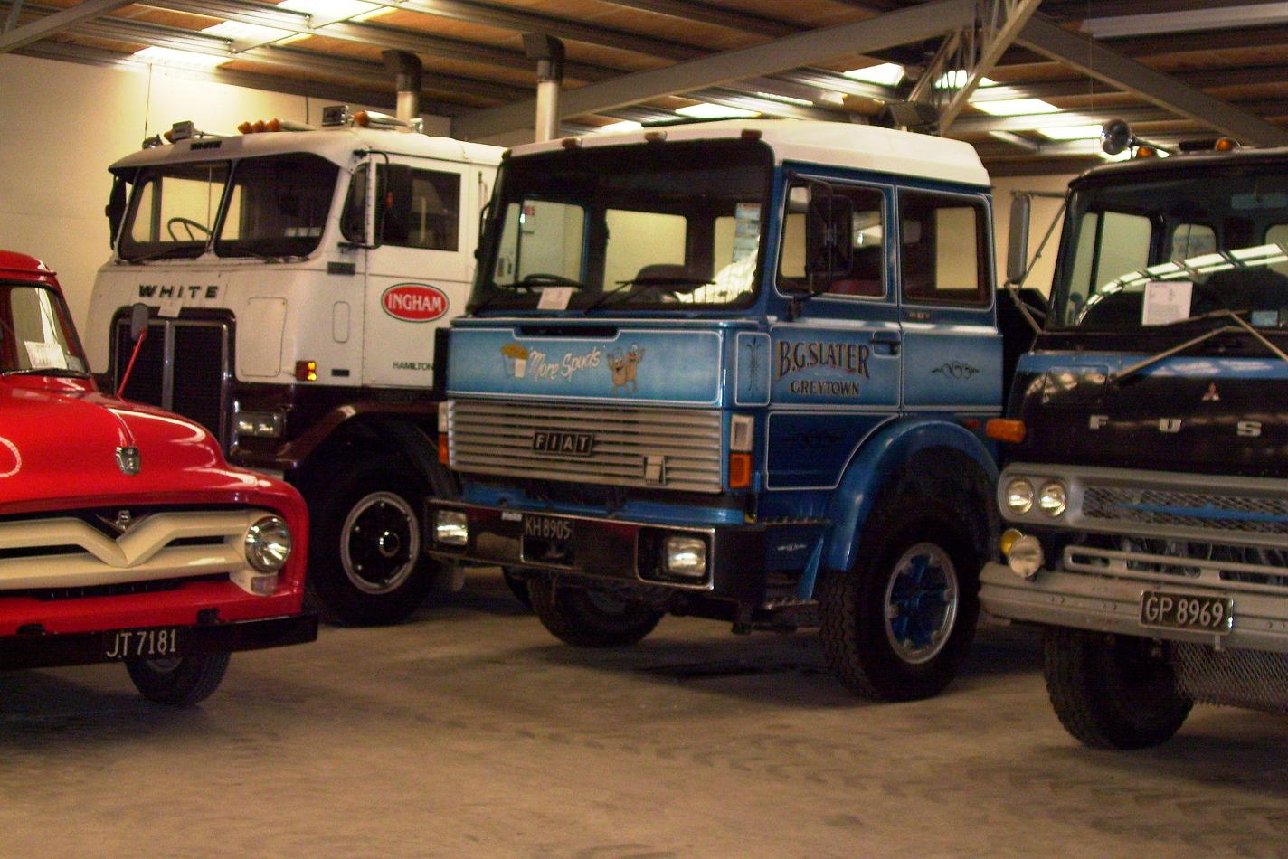 The Road Ranger Blog November 2012 1955 Ford F100 White 4x4 Commander This Fiat I Remember Seeing On In Area And A Fuso