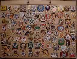 Colección de pines de Peñas del Athletic Club