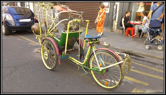 tricycle style asiatique