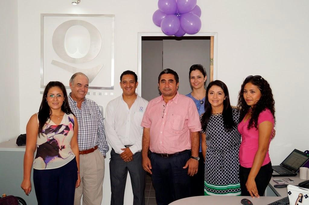 Inauguran oficinas de qualitas en champot n champohouston for Oficina qualitas auto barcelona