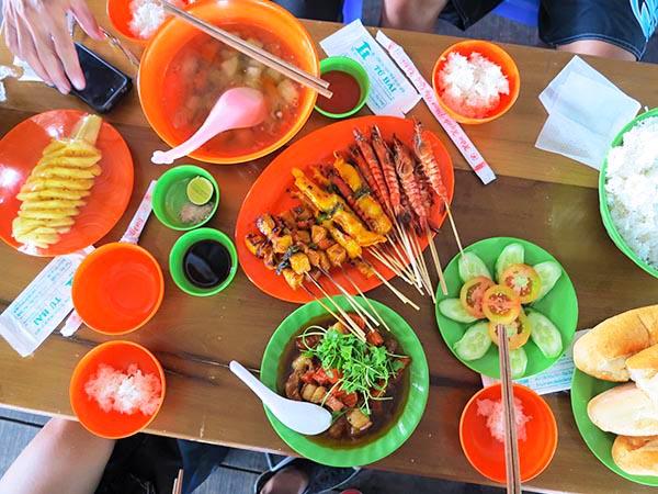 BBQ seafood