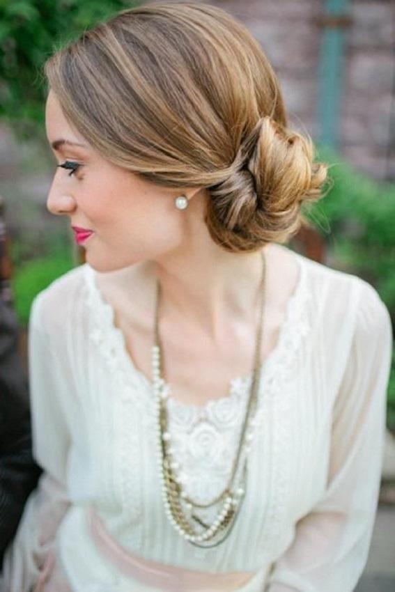 Como hacer un recogido bajo para Novia YouTube - Peinados Novia Recogidos Bajos