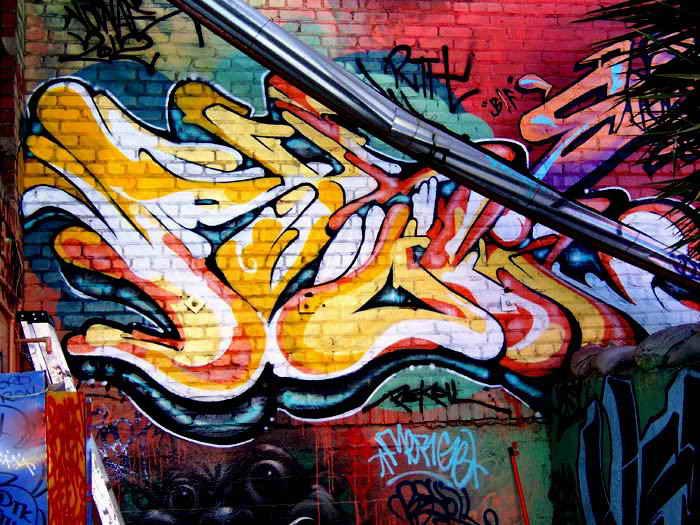 Graffiti art for Graffiti mural