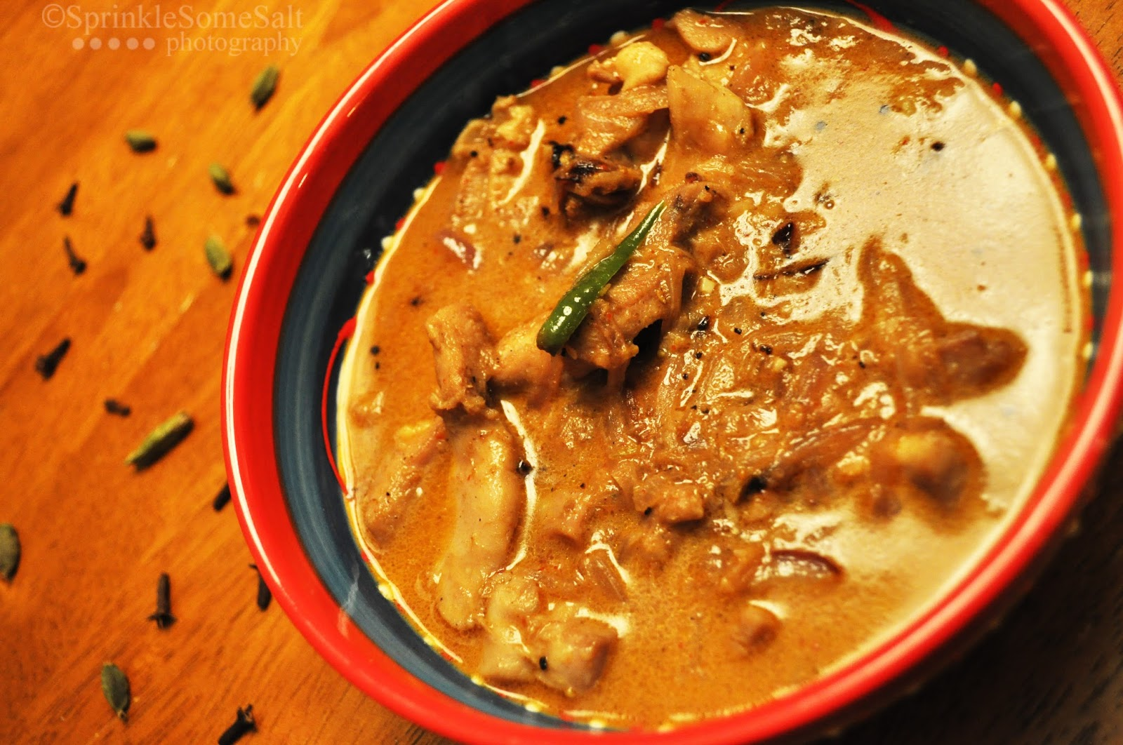 Sprinkle Some Salt!Kerala Chicken curry with coconut milk