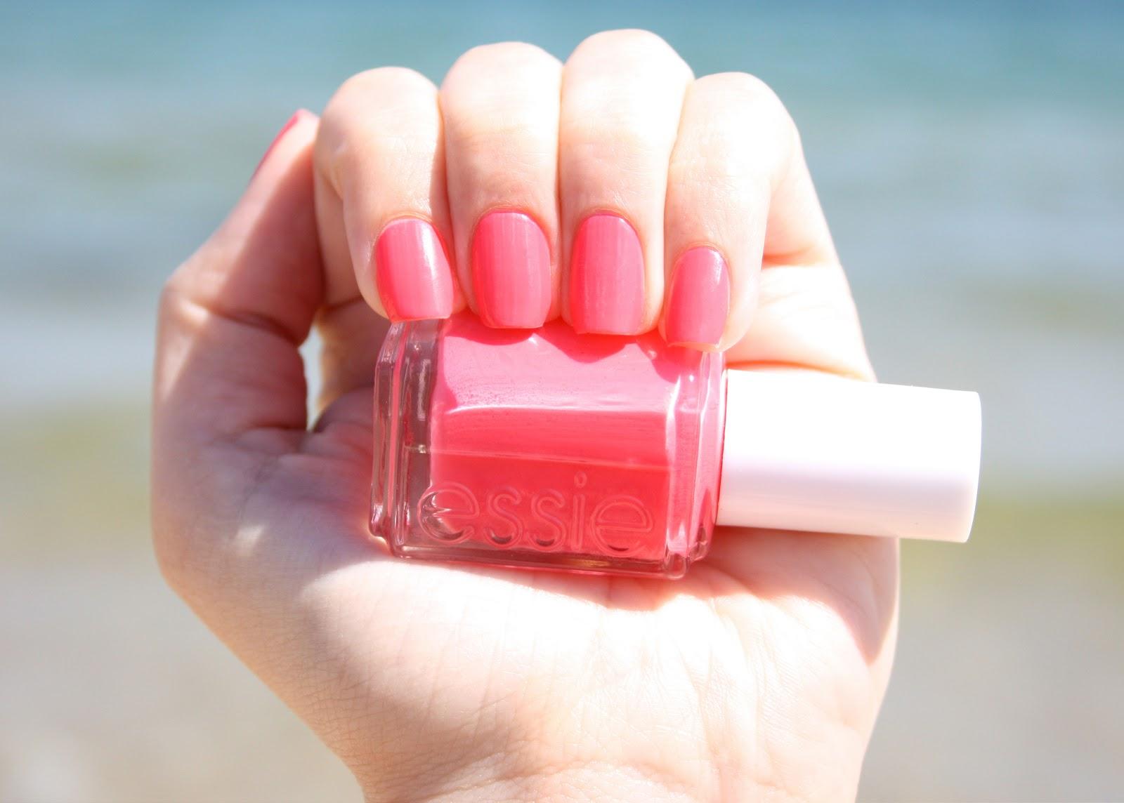 I Heart Summer Series: My Favorite Summer Nail Polish: Essie Cute As ...