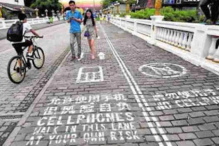 Carril Smartphones en China